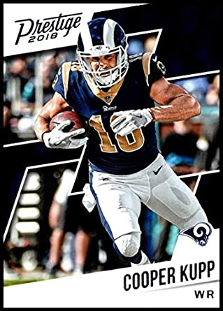 2018 Prestige NFL  184 Cooper Kupp Los Angeles Rams Panini Football Card 40bf7030f