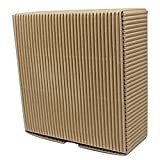 14 x 14 x 5 cm(5.5 x 5.5 x 1.9 inch) Natural Brown Kraft Paper Box Vintage Jewelry Small Gift Packing Boxes for Handmade Soap Packaging Paper Boxes 70 Pcs