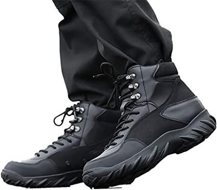 Outdoor Hiking Shoes Men Tactical Army