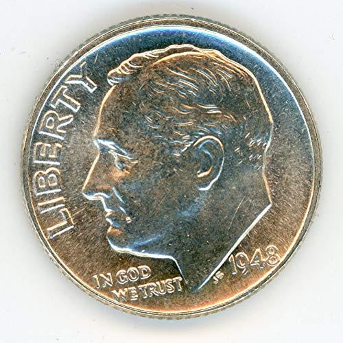 1948 D Roosevelt Dime MS-64