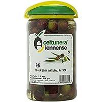 Aceitunera Jiennense, Aceituna Negra 100% Natural Rayada, 1.2Kg
