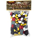 ISLANDIA Wooden Resource Tokens Set for Both 3-4 and 5-6 Player Games (Compatible with Settlers of Catan)