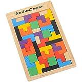Ruikey en bois Tetris Jigsaw Kid jouets éducatifs Jigsaw Puzzle Game Jigsaw Toy