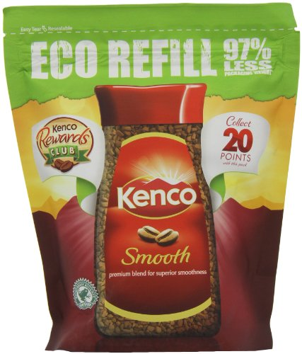 Kenco Really Smooth Refill Coffee 150 g (Pack of 4) (Smooth Instant Coffee)