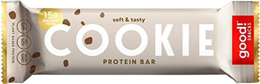 good! Cookie dough protein bar