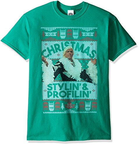 Ric Flair Stylin and Profilin Ugly Christmas T-Shirt