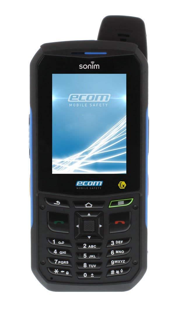 ecom Ex-Handy 09 -E-B Open Box/B-Stock Interno Negro unidad de ...