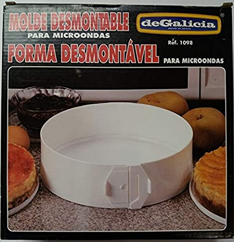 PLASTICOS DE GALICIA Molde Desmontable para MICROONDAS ...