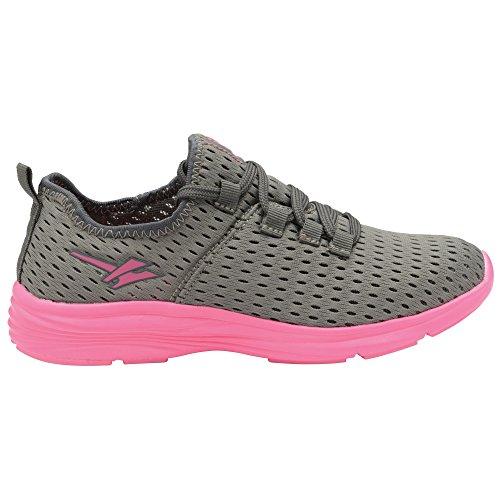 Gola Sondrio - Zapatillas de Deporte Mujer Gris/Rosa