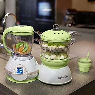 Babymoov NutriBaby Zen Food Processor with Steaming, Sterilizing, and Warming systems - Cooking Food for your Baby has never been Easier! by Alt-Group Corp that we recomend individually.