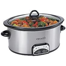 Crock-Pot Programmable 4-Qt, Oval Slow Cooker