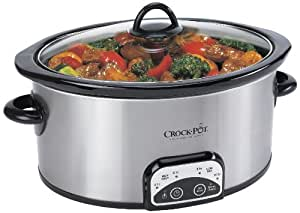 Crock-Pot Programmable 4-Qt, Oval Slow Cooker