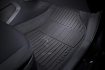 New Genuine Kia Rio 2011-2016 Front /& Rear Velour Carpet Floor Mats 1W143ADE11