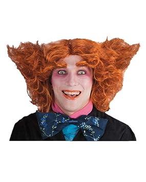 DAM Mad Hatter Wig Red (peluca)