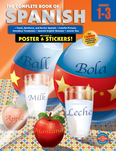 Complete Book of Spanish, Grades 1 - 3 from Brand: American Education Publishing