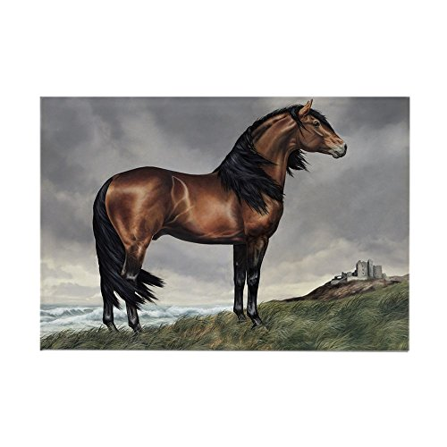 Horse Rectangle Magnet - CafePress Andalusian Horse Rectangle Magnet Rectangle Magnet, 2