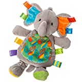 Taggies Little Leaf Elephant Lovey Soft Toy