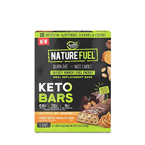 Nature Fuel Keto Bars – Peanut Butter Chocolate Chunk