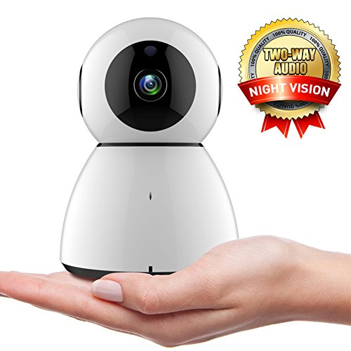 WiFi IP Camera,COOFO 1080P HD Wireless Security Camera Support Cloud Storage Baby Monitor Home Surveillance Camera with Motion Sounds Detection,2 Way Audio,Night Vision by COOFO