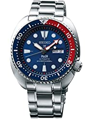 Seiko Mens SRPA21 Prospex X Padi Analog Hand and automatic, Silver