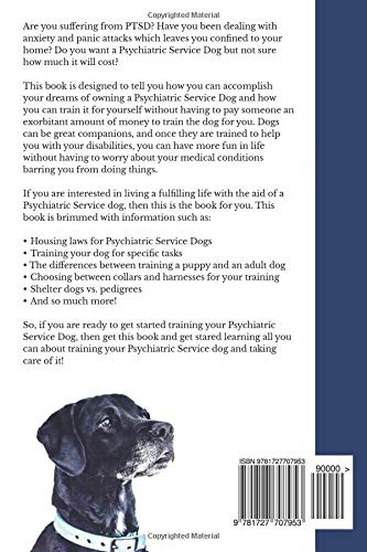 Training Your Own Psychiatric Service Dog Step By Step Guide To
