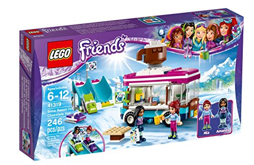 Lego Friends Snow Resort Hot Chocolate Van 41319 Building Kit  246 Piece