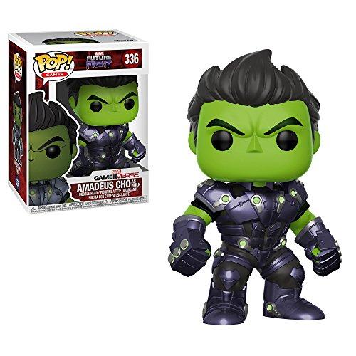 Figura Pop Marvel Future Fight Amadeus Cho: Amazon.es ...