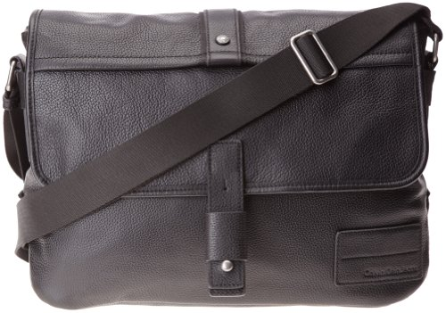 b Messenger 999 Cm Uomo Klein 38x27x14 Borsa Jeans Hard schwarz Calvin black T amp;haevy Nero X 999 H 7vpWOXSqn