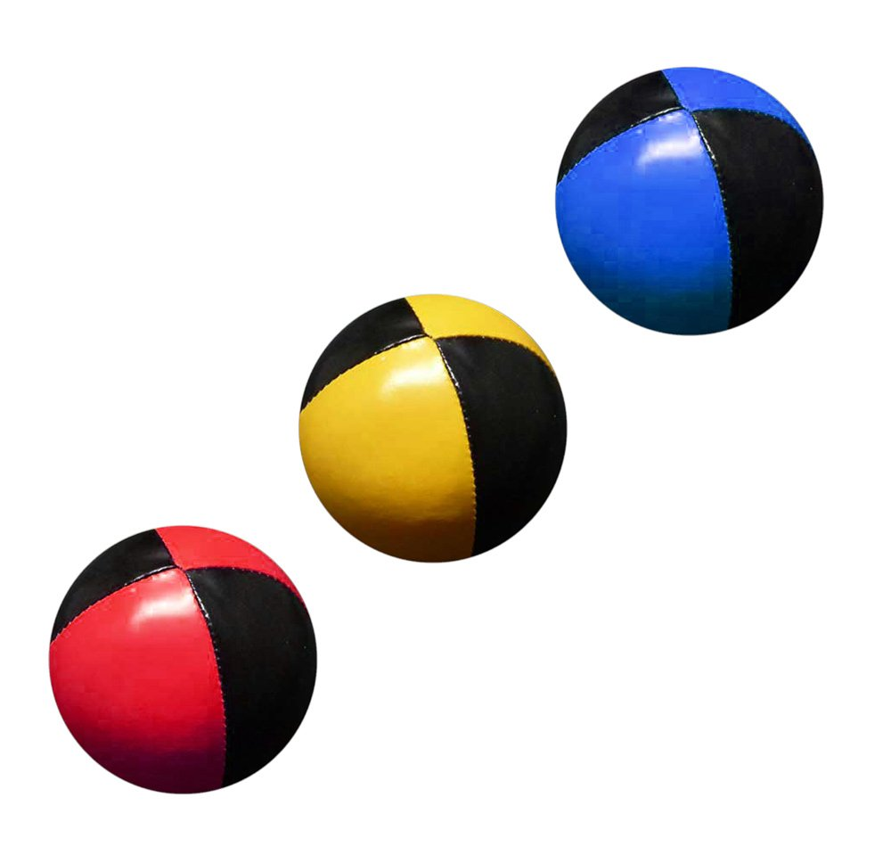 PassePasse Set 3 malabares bolas de 57mm 70g cada una (Bi-color ...