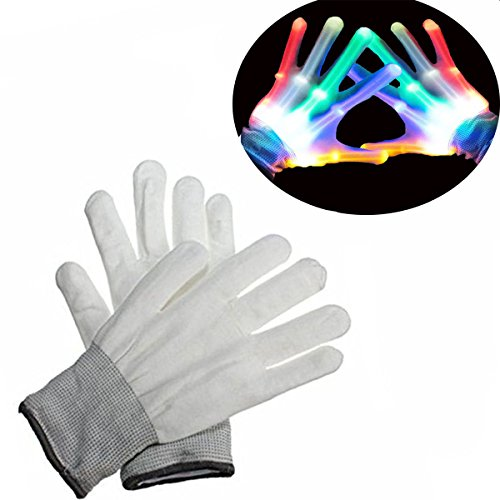 Teen Boys Gifts, DIMY Flashing Gloves Gifts for Teen Girls Birthday Present Boys 11 Years Old 7 Years Old G02