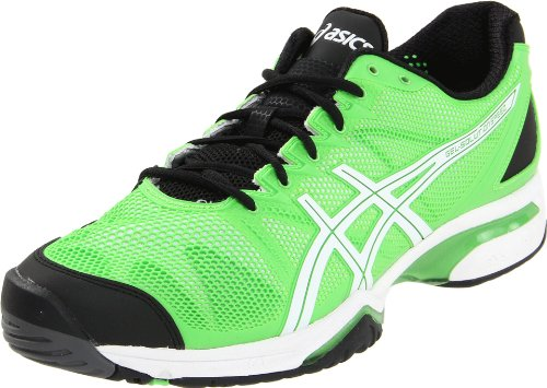 ASICS Men's GEL-Solution Speed Tennis ShoeNeon Green/White/Black11.5 M US