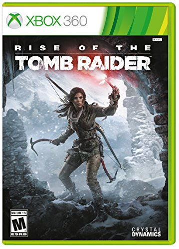 Rise Of The Tomb Raider   Xbox 360   Xbox 360 Standard Edition
