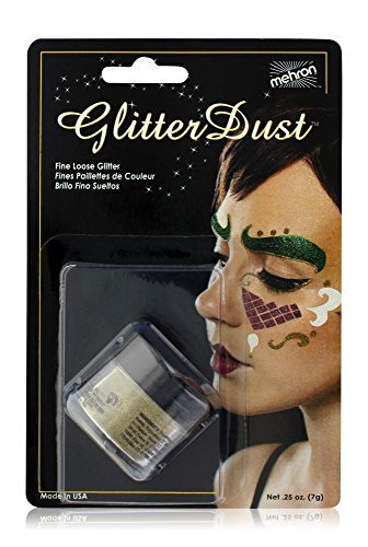 Mehron Makeup GlitterDust (.25 oz) (Gold)