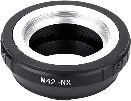 42mm a Fotocamera Samsung NX Compatibile con Samsung NX3000 NX2000 NX300 NX1000 NX210 NX200 NX30 NX20 NX5 M42-NX KECAY Anello Adattatore per Obiettivo di l/'obiettivo con l/'attacco filettato M42