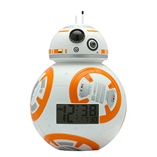 BulbBotz Star Wars BB-8 Kids Light Up Alarm Clock Review