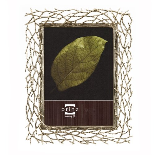 Branch Picture Frame (Prinz Whitman Photo Frame, 8 by 10-Inch, Antique Gold)