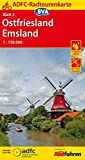 ADFC-Radtourenkarte 5 Ostfriesland / Emsland 1:150.000, reiß- und wetterfest, GPS-Tracks Download und Online-Begleitheft (ADFC-Radtourenkarte 1:150000)