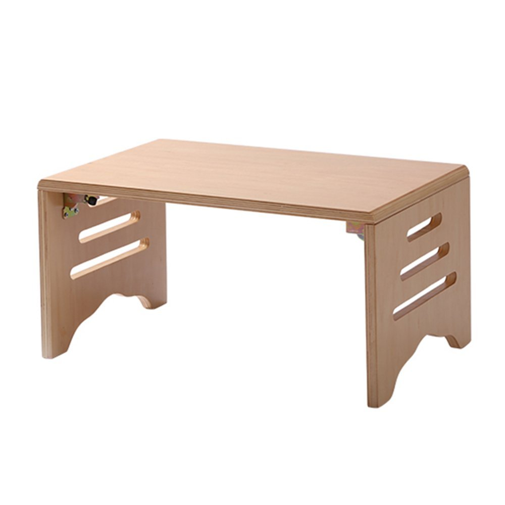 NAN ソリッドウッド中空折りたたみベッドコンピュータデスクシンプルなテーブル ワークベンチ (サイズ さいず : 60 cm 60 cm) B07FBTGTSY60 cm 60 cm