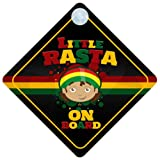Little Rasta On Board Car Sign New Baby / Child Gift / Present / Baby Shower Surprise