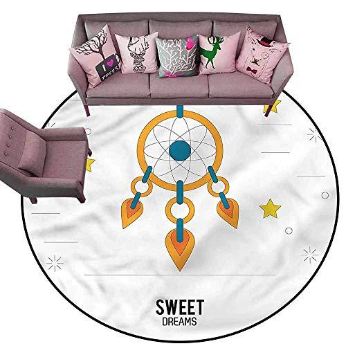 - Floor Mat Entrance Doormat Sweet Dreams,Dream Catcher Diameter 66