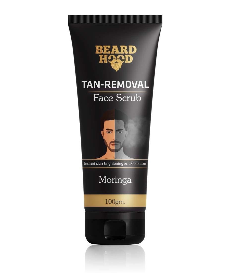 Beardhood Tan Removal Face Scrub, 100g product image