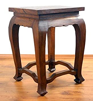 Asian Opium Table, Coffee Table, Handmade Thai Furniture, Stool, Plant  Stand,