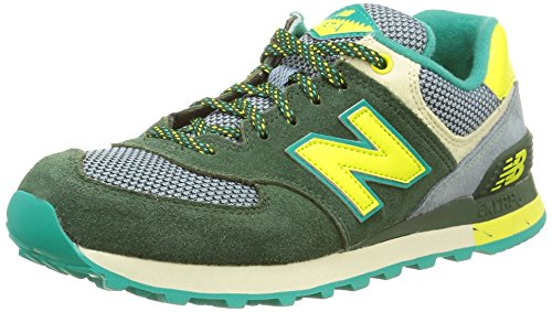 New BalanceWL574 B Zapatillas Deportivas para Mujer Dark Green