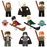 DESO Lego-Compatible Minifigures Minifigures Hermione/Ron/Lord Voldemort Mini Figures (Without Original Box)