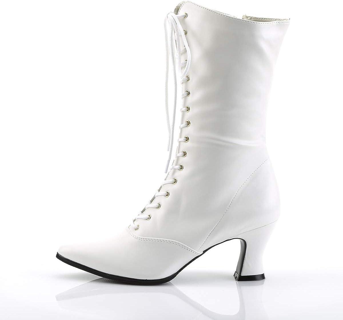 Funtasma by Pleaser Womens Victorian-120 Boot