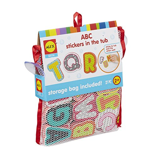 - ALEX Bath ABC Stickers in the Tub