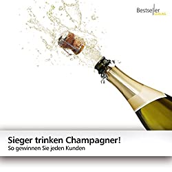 Sieger trinken Champagner!