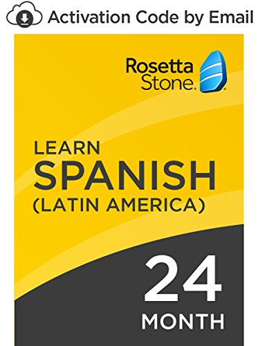 Rosetta Stone: Learn Spanish (Latin America) for 24 months on iOS, Android, PC, and Mac - mobile & online access [PC/Mac Online Code]