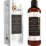Sensual Massage Oil for Body That Is Infused With Cold Pressed Aromatherapy Essential Oils Lavender Ylang Ylang Sweet Almond & Pure Jojoba for Soothing and Sexy Sensations for Women & Men