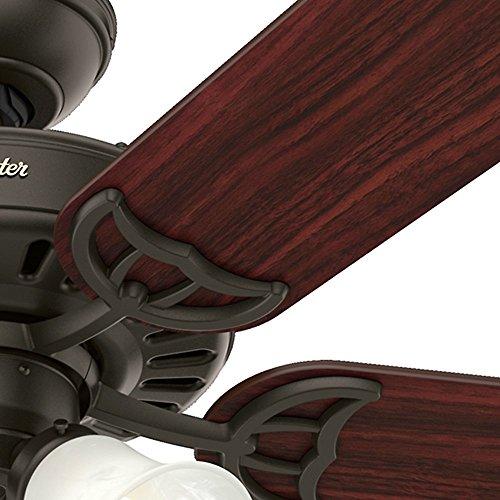 "Hunter 53067 Studio Series 52"" Ceiling Fan New Bronze"